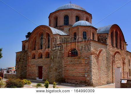 Byzantine church (1152 ad), at Feres in Greece