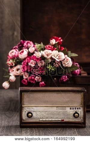 Decorative Radio With Retro Look