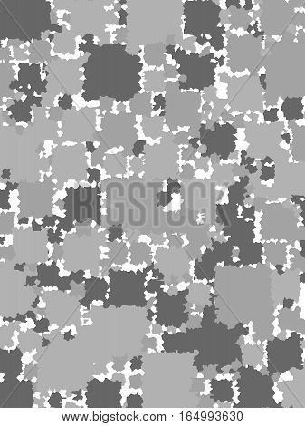 Abstract Background With Random Blocks. Pattern For Surface Concept.