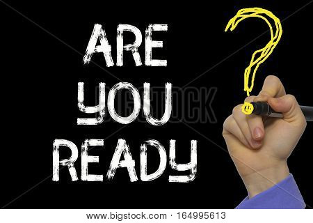 Hand Writing The Text: Are You Ready