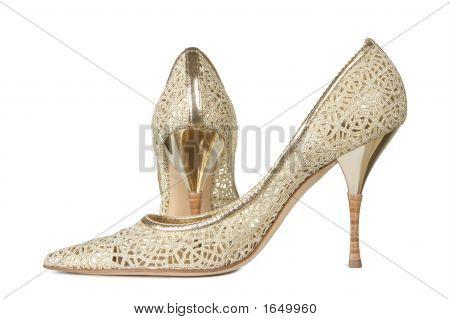 Openwork Female Shoes