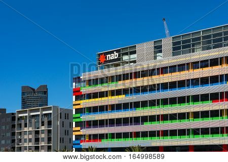 Corporate Office Of Nab On Bourke Street, Docklands, Melbourne
