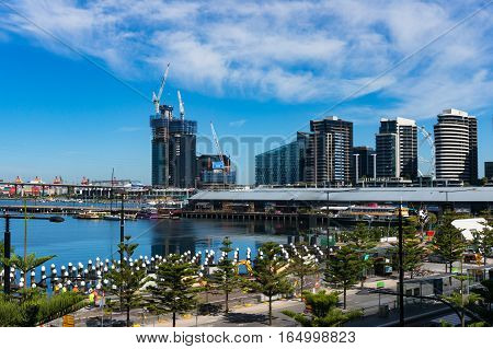 Melbourne Docklands Is A Suburb Of Melbourne