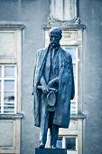 Tomas Garrigue Masaryk statue poster
