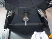 high precision carbide tapping tool for CNC industrial manufacturing poster
