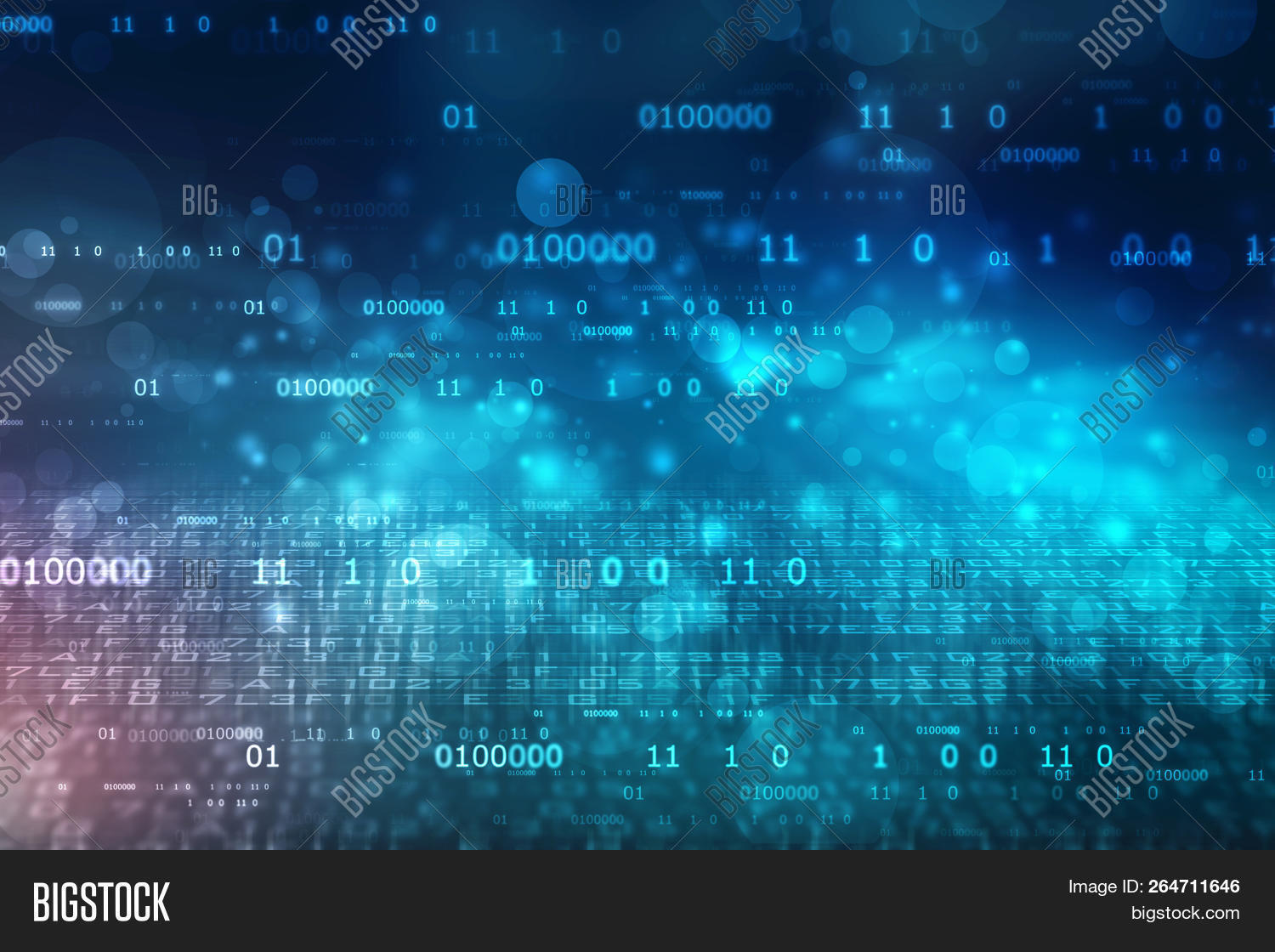 Binary Code Background Image & Photo (Free Trial) | Bigstock