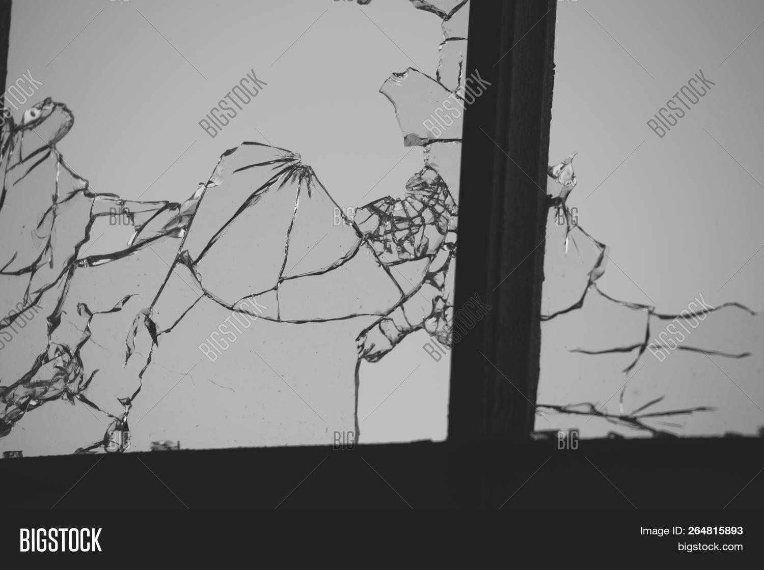 Cracked Broken Window Image & Photo (Free Trial) | Bigstock