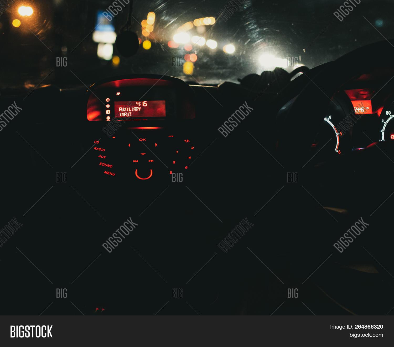 Inside Car Bokeh Image Photo Free Trial Bigstock
