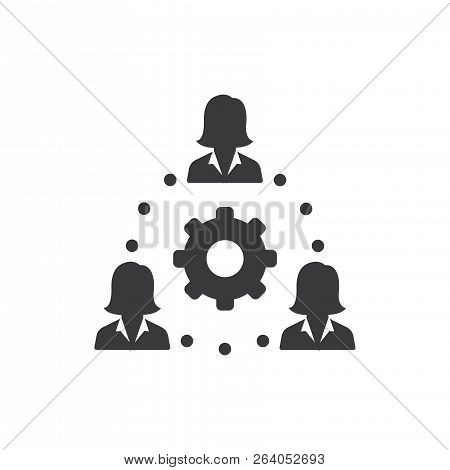 Networking Vector Icon On White Background. Networking Icon In Modern Design Style. Networking Vecto