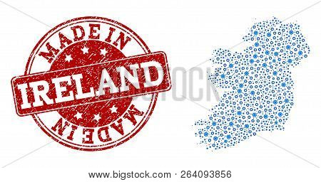 Map Of Ireland Islands.Map Ireland Island Vector Photo Free Trial Bigstock