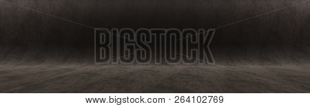 Dark Gray Background For Shooting In The Studio Or For Your Advertising Text