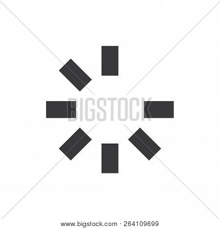 Loading Process Vector Icon On White Background. Loading Process Icon In Modern Design Style. Loadin