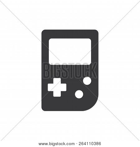 Game Boy Vector Icon On White Background. Game Boy Icon In Modern Design Style. Game Boy Vector Icon