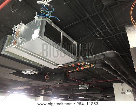 Installation Of Air Handing Unit Or Fan Coil Unit In Loft Office