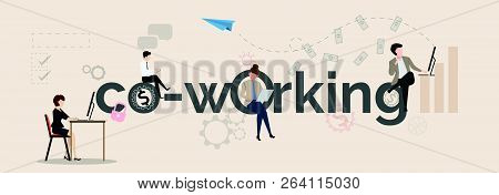 Technology Co Working Environments Office Center People Talking And Working Business How To Make Mon