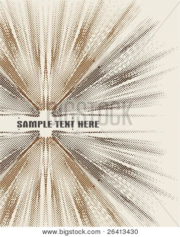 retro vector background,halftone patTern