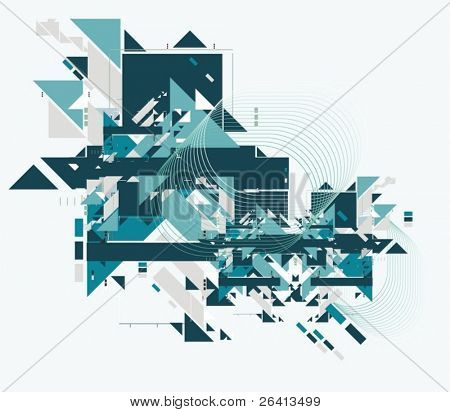 abstract tech background,vector illustration