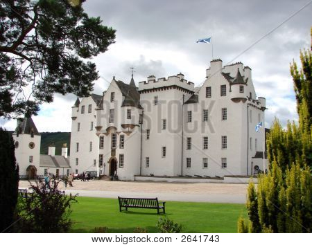 Blair Castle In Scotland