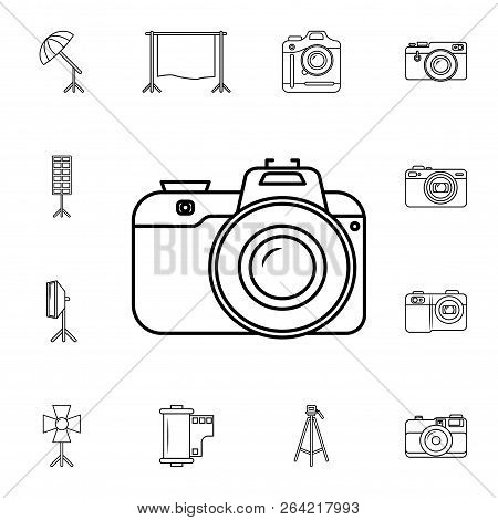 Camera Icon. Detailed Set Of Photo Camera Icons. Premium Quality Graphic Design Icon. One Of The Col