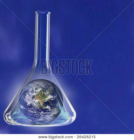 earth in retort