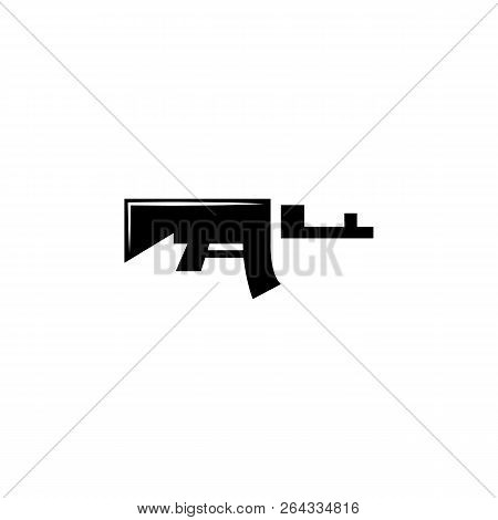 Rifle, Weapon 04 Icon Vector & Photo (Free Trial) | Bigstock