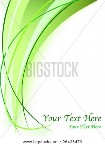 Abstract environmental background