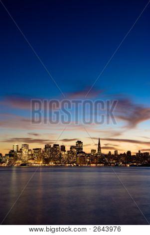 San Francisco At Dusk.