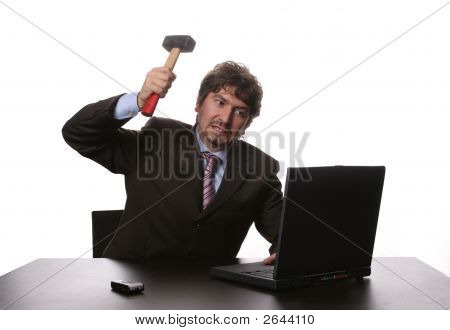 Fustrated Businessman