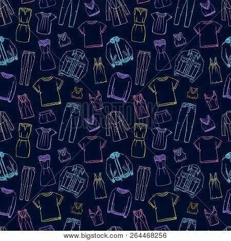 Fashion Doodles Vector Photo Free Trial Bigstock
