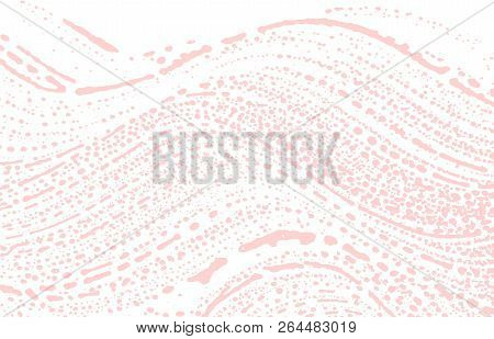 Grunge texture. Distress pink rough trace. Favorable background. Noise dirty grunge texture. Mesmeric artistic surface. Vector illustration. poster