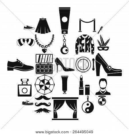 Craze Icons Set. Simple Set Of 25 Craze Vector Icons For Web Isolated On White Background
