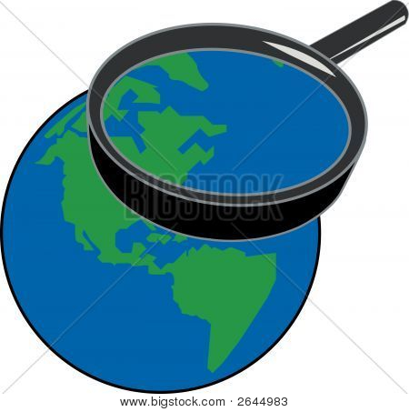 Magnifying Earth