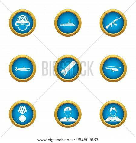 Feat Icons Set. Flat Set Of 9 Feat Vector Icons For Web Isolated On White Background