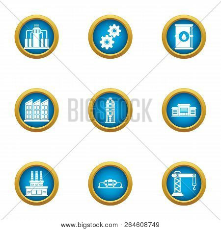 Commercial Growth Icons Set. Flat Set Of 9 Commercial Growth Vector Icons For Web Isolated On White