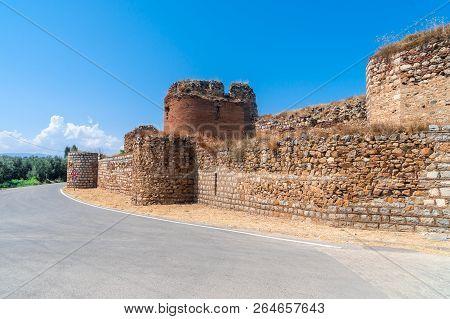 Historical Stone Walls And Doors In Iznik