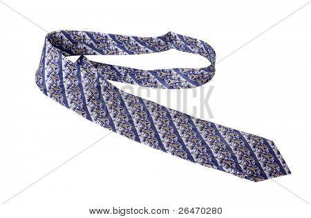 Color photo of male tie
