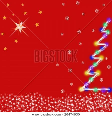 Christmas Tree & Stars.eps