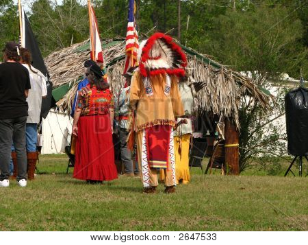 Ceremony At Pow Wow