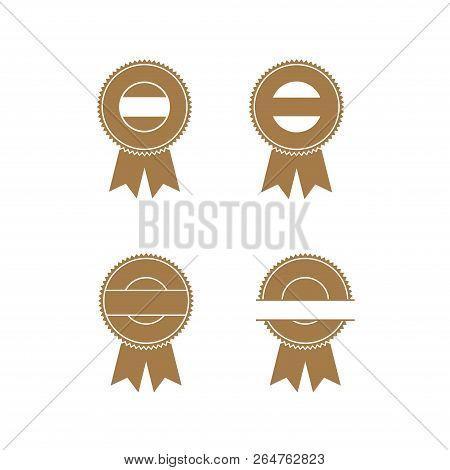 Emblem Collection Business Award Ribbon , Award Ribbon Collection Vector Image, Award Ribbon Eps10
