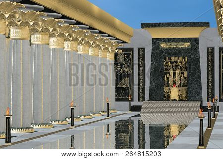 Egyptian Throne Room