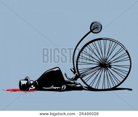 bicycle accident.