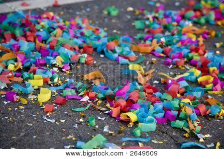 Confetti On The Street
