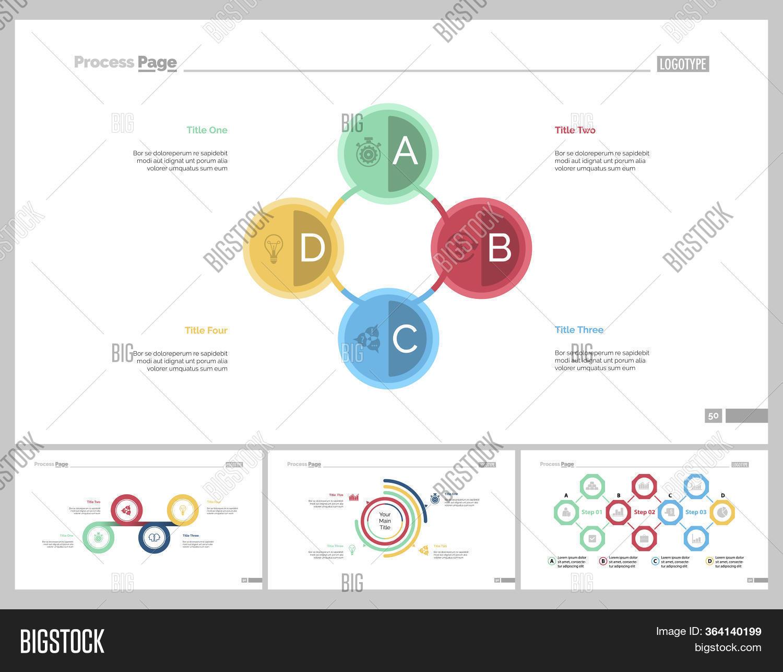 Infographic Design Set Image Photo Free Trial Bigstock