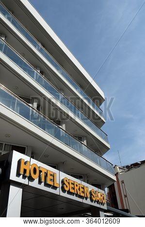Marmaris,turkey - November 2, 2019:modern Hotel Lalila Blue Suite On The Strip Kemal Seyfettin Elgin