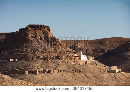 Douiret Is A Ruined Berber Village In The Tataouine District In Southern Tunisia Located On A Hillto