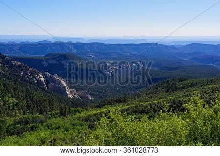 Utah Scenic Byway 12 Near The Homestead Overlook