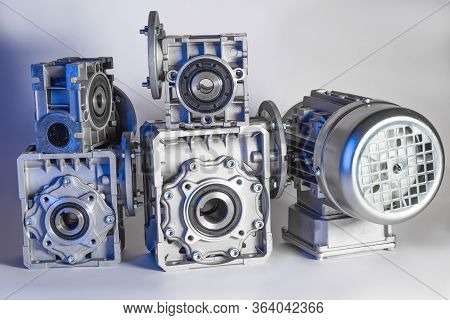 Worm Motor, Electric Motors, Induction Motor And Equipment For Bottling Lines, Industrial Equipment