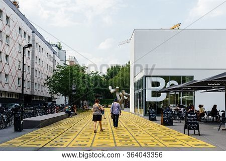 Berlin, Germany - July 29, 2019: Berlinische Galerie. It Is A Museum Of Modern Art, Photography And