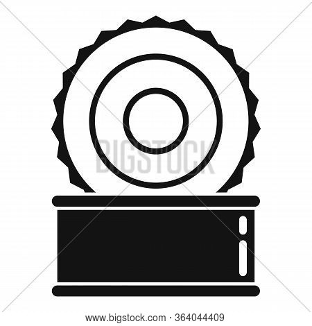 Open Tin Can Icon. Simple Illustration Of Open Tin Can Vector Icon For Web Design Isolated On White