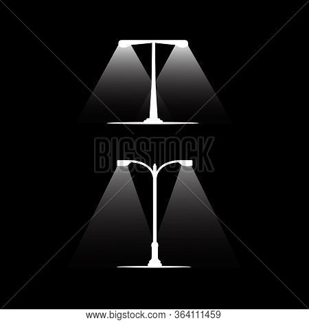 Streetlight Icon Sign Vector,symbol, Logo Illustration For Web And Mobile